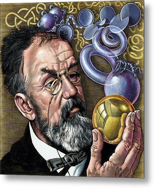 Henri Poincare, French Mathematician Metal Print by Bill Sanderson