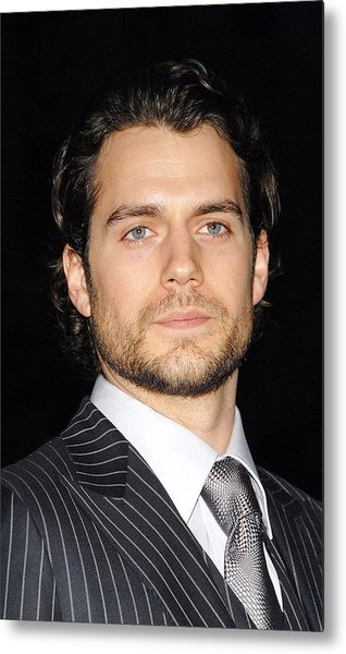 Henry Cavill At Arrivals For Vanity Metal Print by Everett