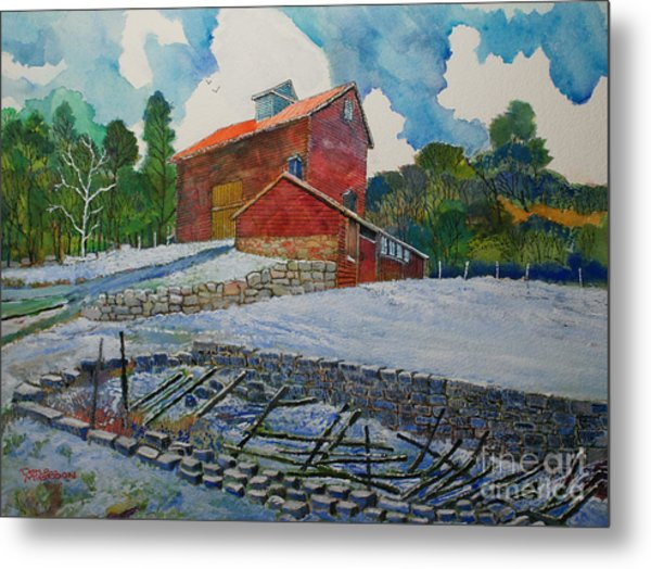 Henry Fowler Farm Metal Print by Donald McGibbon