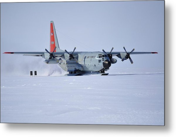 Hercules Lc130h 02 Metal Print by David Barringhaus