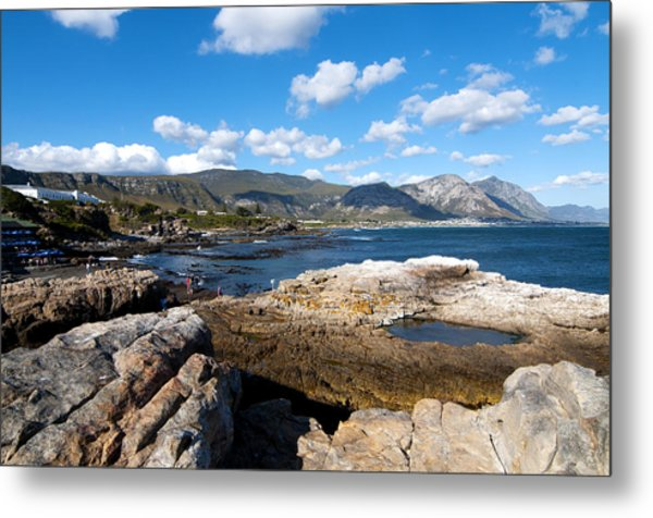 Hermanus Coastline Metal Print