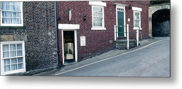 Hexham Chiropractor Metal Print by Jan W Faul
