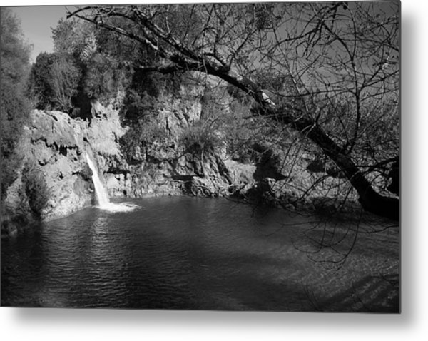 Hidden Falls Metal Print by Jez C Self