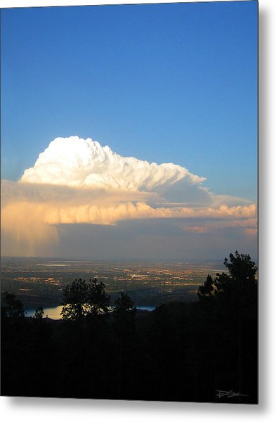 High Plains Thunder Metal Print by Ric Soulen