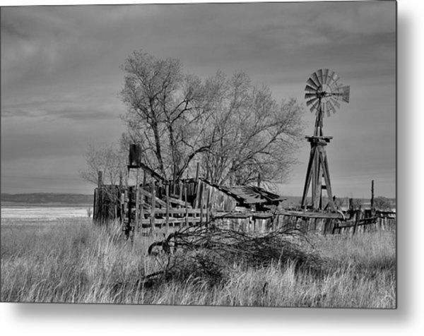 High Plains Wind Metal Print