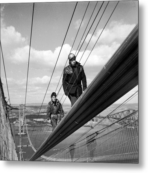 High Wire Metal Print by John Drysdale