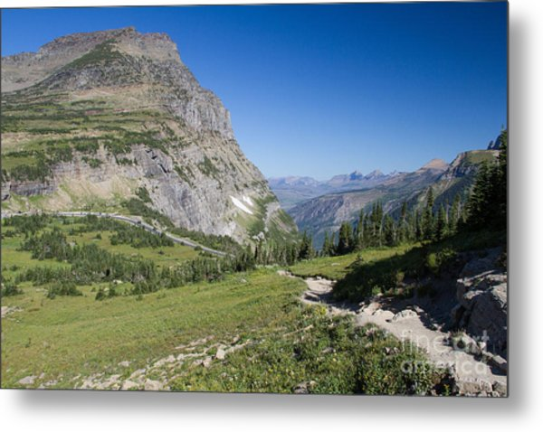 Metal Print featuring the photograph Highline Trail 1 by Katie LaSalle-Lowery