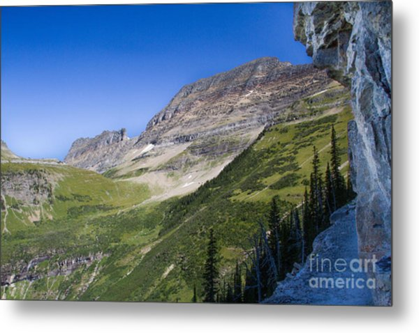 Metal Print featuring the photograph Highline Trail 5 by Katie LaSalle-Lowery