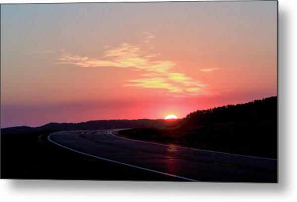 Highway To The Sky Metal Print