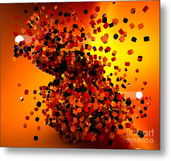 Hit High And Low Metal Print