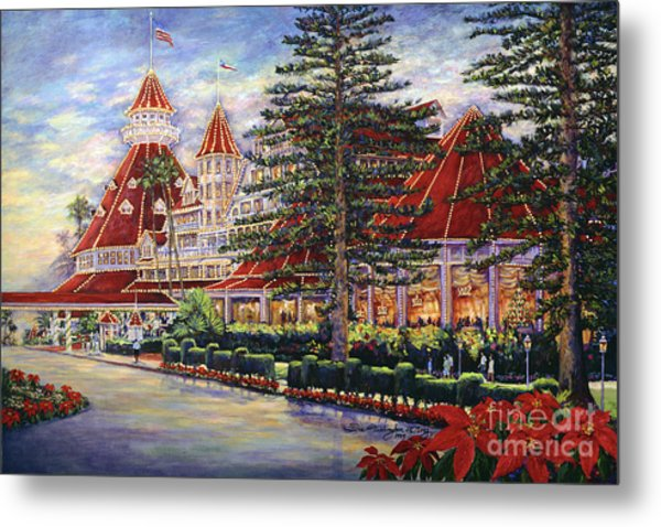 Holiday Hotel Metal Print