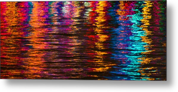 Holiday Reflections Metal Print