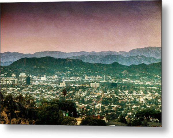 Hollywood At Sunset Metal Print