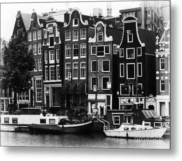 Homes Of Amsterdam Metal Print