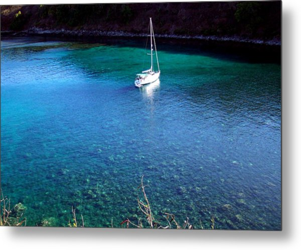 Honloa Bay Metal Print by Sean McDaniel
