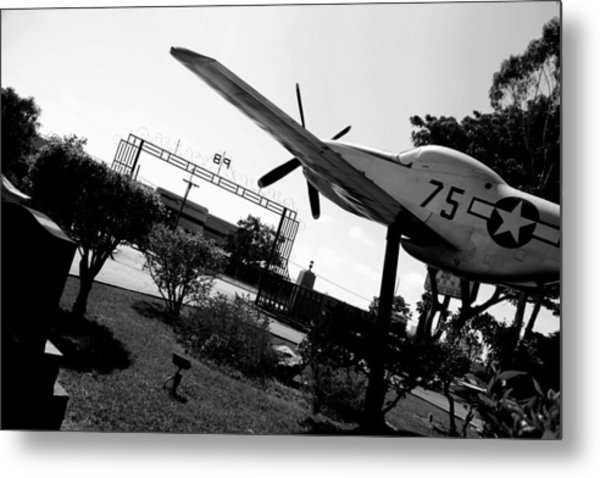 Honor At Tuskegee Metal Print by D Wash