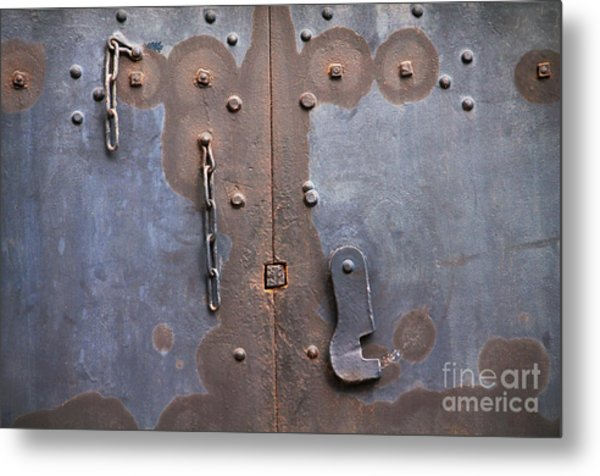 Hooked And Chained Metal Print