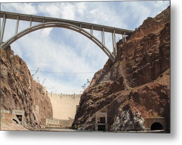 Hoover Dam Metal Print by Kim French