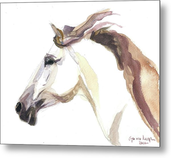 Horse - Julia Metal Print