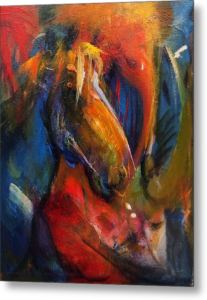 Paint Horse Metal Print