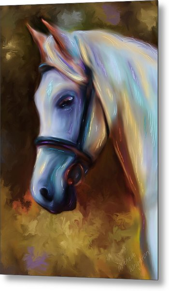 Horse Of Colour Metal Print
