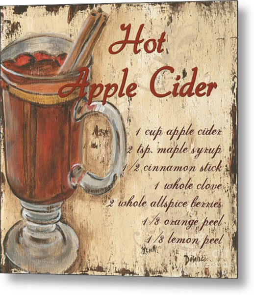 Hot Apple Cider Metal Print
