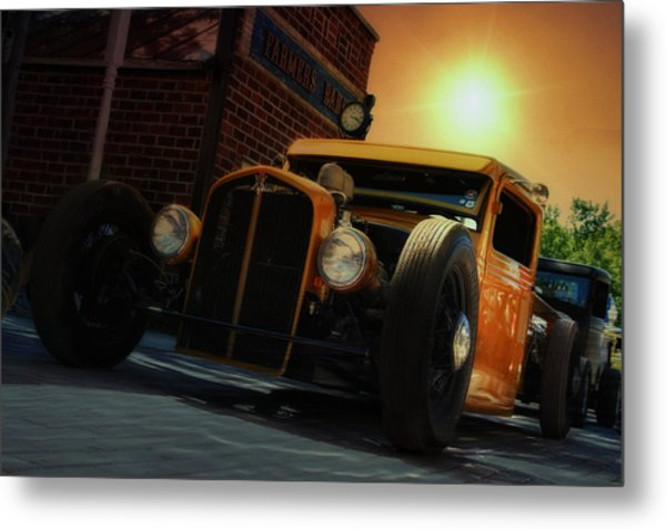 Hot Roddin' Metal Print