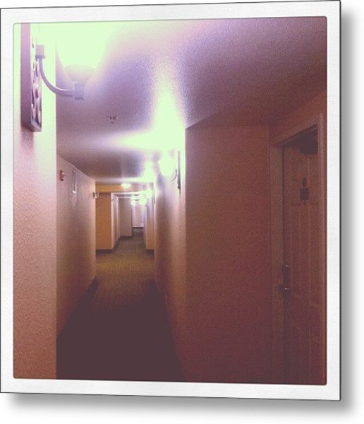 Hotel Nights Metal Print