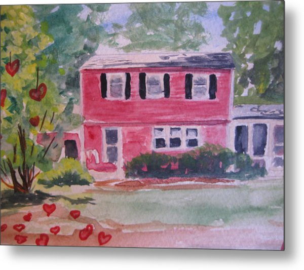 House Of Love Metal Print