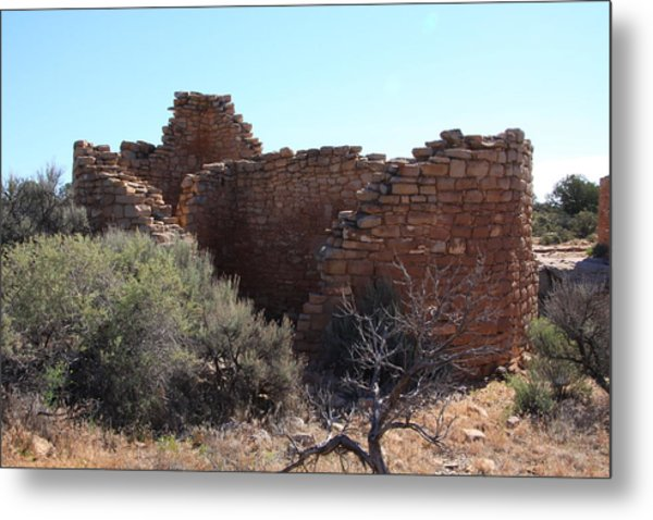 Hovenweep House Metal Print by Cynthia Cox Cottam