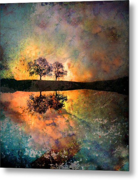 How Trees Reinvent The Morning Metal Print