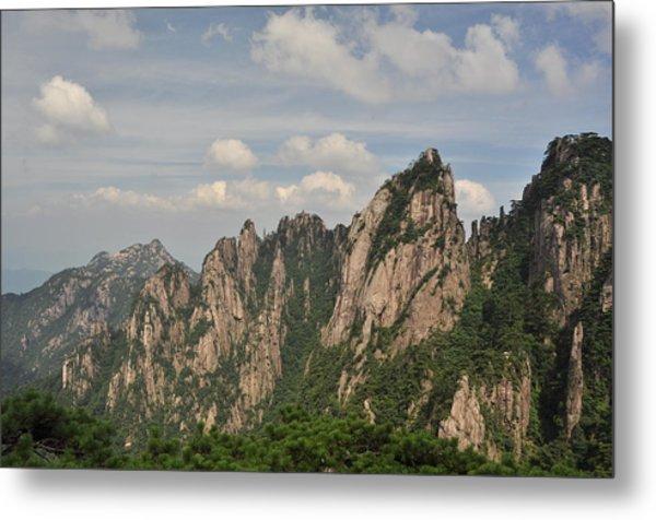 Huangshan Granite 2 Metal Print