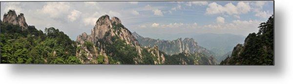 Huangshan Panorama 2 Metal Print