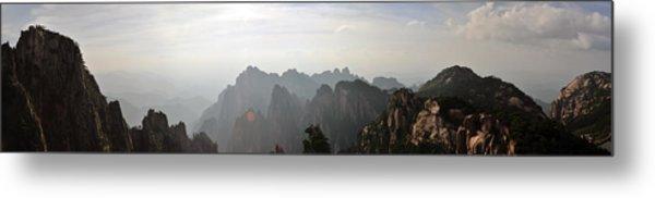 Huangshan Panorama 4 Metal Print