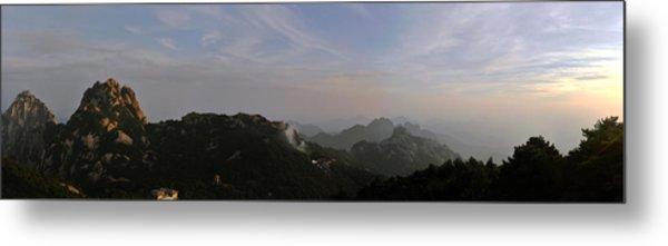 Huangshan Panorama 5 Metal Print