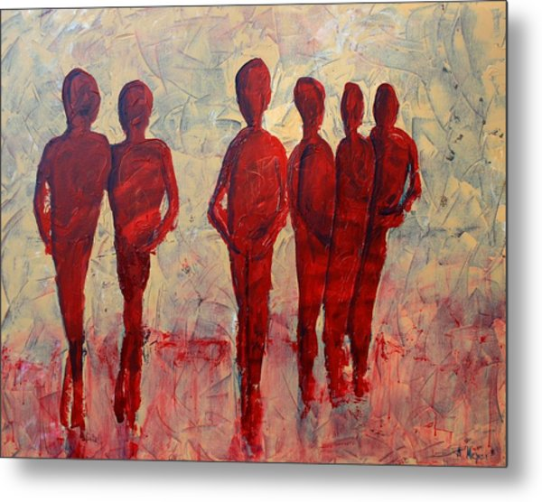 Humans Painting By Andrea Meyer