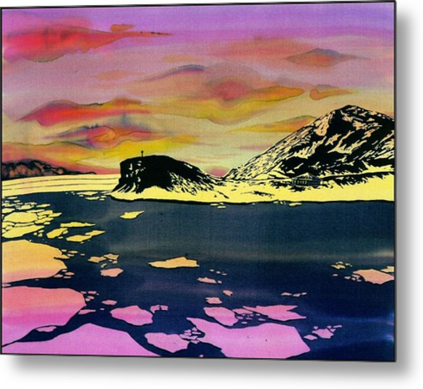 Hut Point Antarctica Metal Print by Carolyn Doe