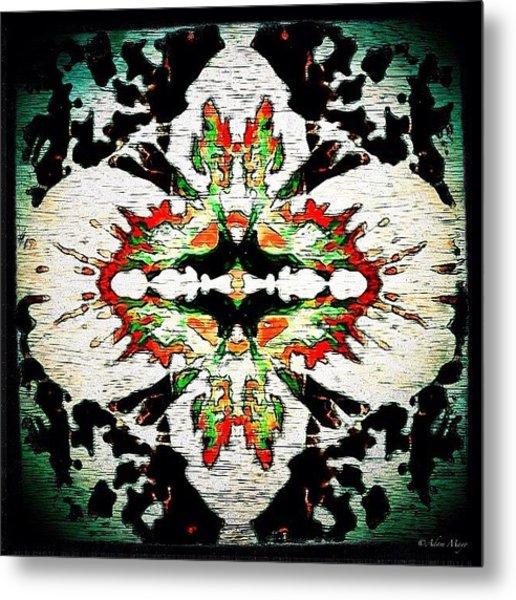 Hyacinth Reborn - Reshaped & Reimagined Metal Print