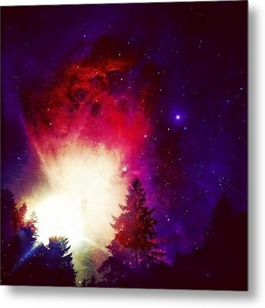 I Live On Mars. #igers #iphone4s Metal Print