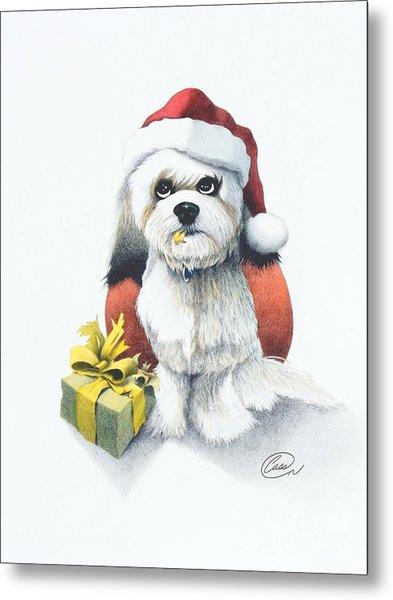 I Rove Christmas Metal Print by Albert Casson