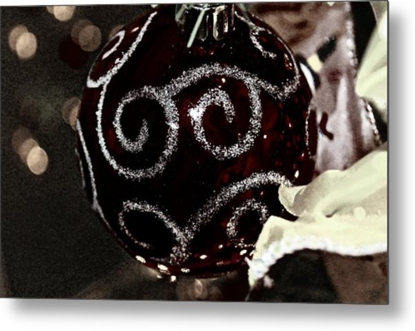 I Smell Christmas In The Air Metal Print by Hannah Miller