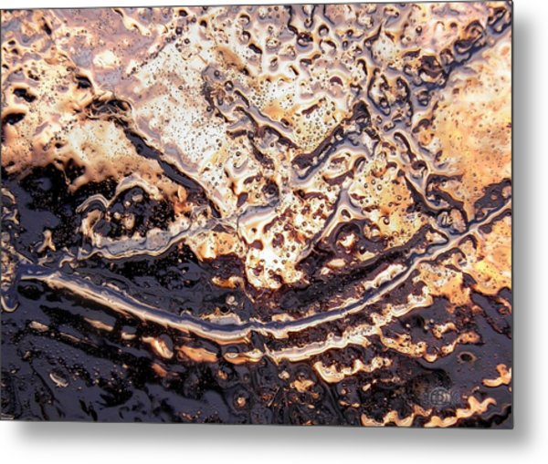 Metal Print featuring the photograph Ice Blade by Sami Tiainen