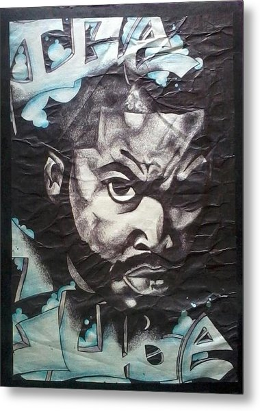 Ice Cube Metal Print by Abby Williams