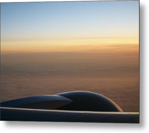 Ice Ocean And Sky Metal Print by Darcey James
