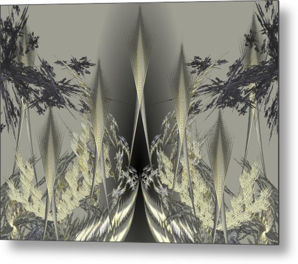 ICY Metal Print by Ricky Kendall