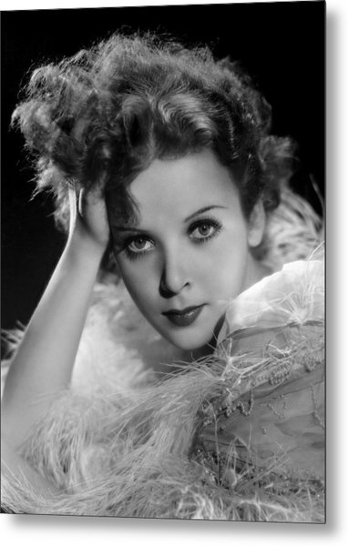 Ida Lupino, Paramount Pictures Photo Metal Print by Everett