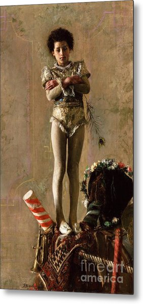 Il  Saltimbanco Metal Print by Pg Reproductions