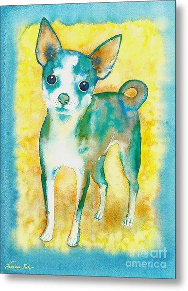 Ilio Chihuahua Metal Print