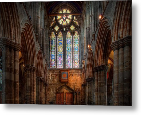 Metal Print featuring the photograph Illumination by David Buhler