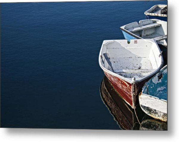 In A Row Metal Print